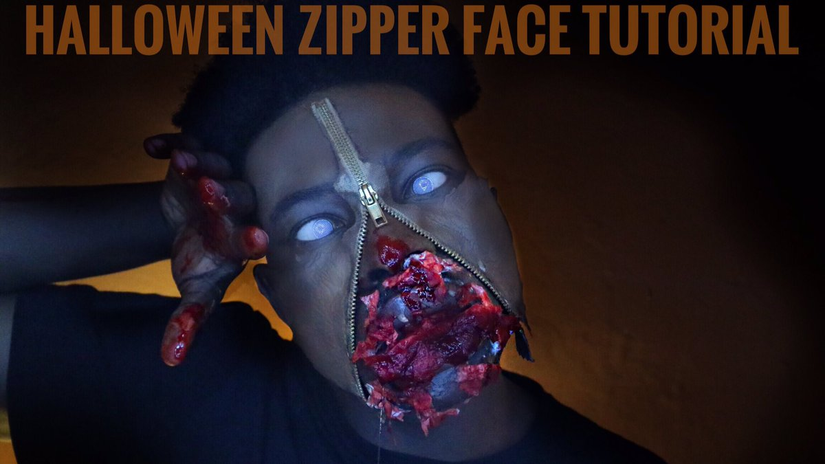 Click to watch #youtube #halloween #makeup #halloweentutorial #TheWalkingDead  #zombie #Halloween2017 #HALLOWEENP   https:// youtu.be/n42l9wIDoQU  &nbsp;  <br>http://pic.twitter.com/DoLmeLIain