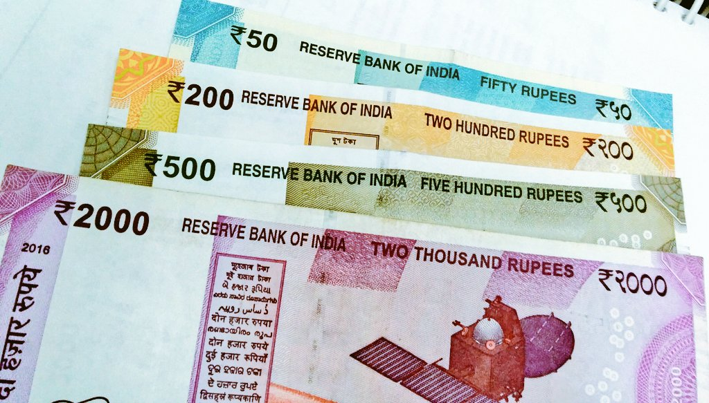So,it took these many days after 2016 Indian #banknote #Demonetisation 2c all da color #notes 4a #commonman  #Currency  2000  500  200 50<br>http://pic.twitter.com/2n7twHY2Rm