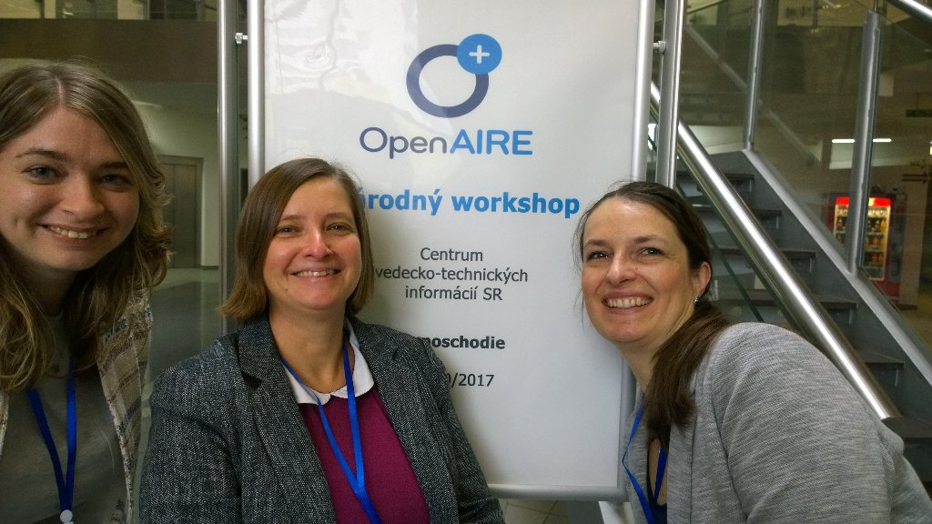 Kicking off #OAWeek in #Bratislava @openAIRE_eu @EIFLnet #openaccess #opendata #openscience #Slovakia<br>http://pic.twitter.com/RLSnrESAS8
