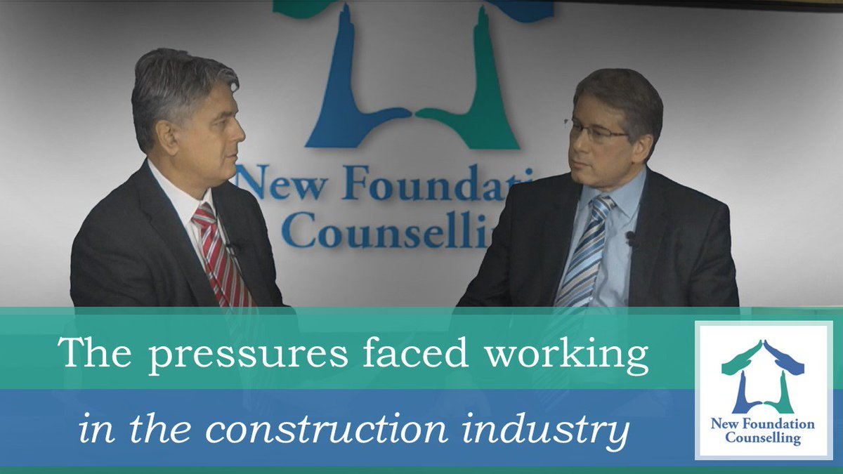 Our second episode of #MentalHealth in Construction is now live: the pressures faced in working in the industry.  https://www. youtube.com/watch?v=JV50EF jIdvE &nbsp; … <br>http://pic.twitter.com/8ckN4v2Mzo