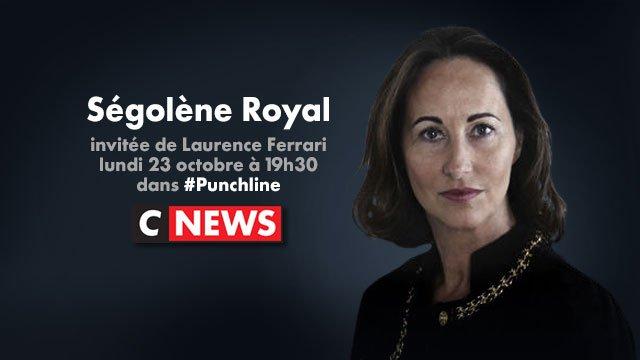 Ségolène Royal est l'invitée de @LaurenceFerrari à 19h30 dans #Punchli...