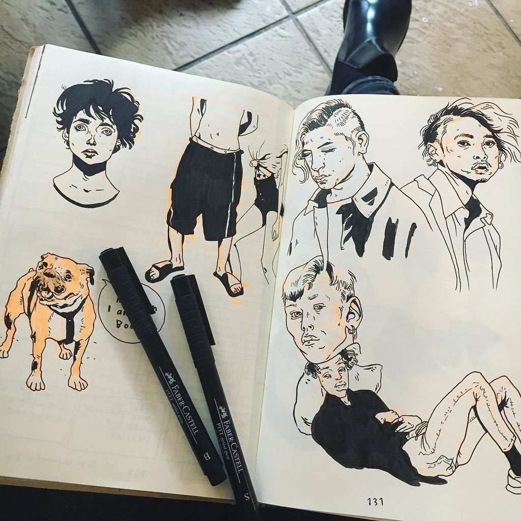 Sunday coffee place drawings # #drawing #weekend #illustration #dog #volkskrantmagazine #characterdrawing #por…  http:// ift.tt/2h1XKYB  &nbsp;  <br>http://pic.twitter.com/o4rfWI4feA