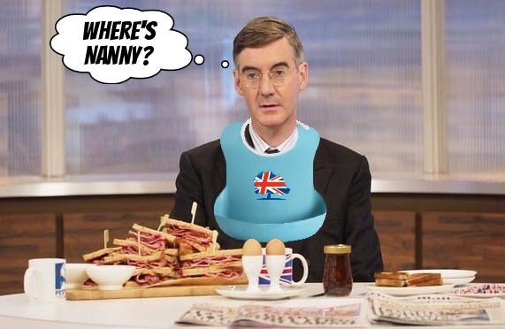 Dear @Jacob_Rees_Mogg you sound very irritable on your debut on @LBC may I suggest you bring Nanny along next time old boy @LBC #Bbcdp #Marr <br>http://pic.twitter.com/UGIbLMW1Eg