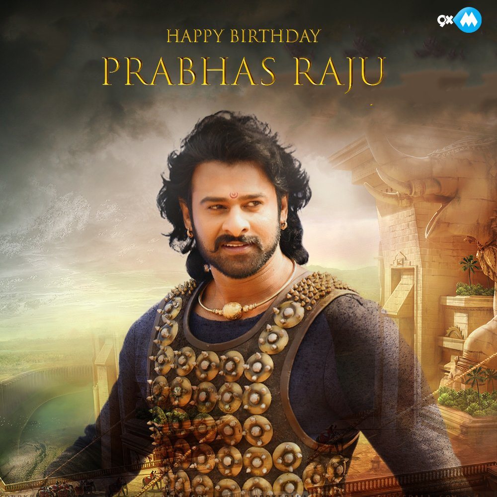 Here's wishing our #Baahubali, #Prabhas a very #HappyBirthday! #HBDDar...