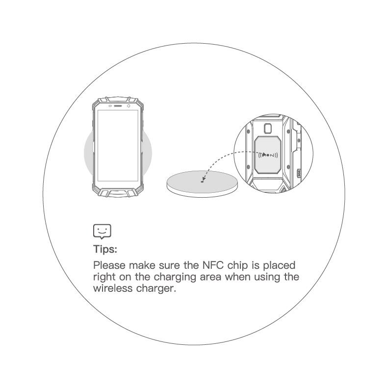 Doogee On Twitter How To Use A Wireless Charger To Charge S60