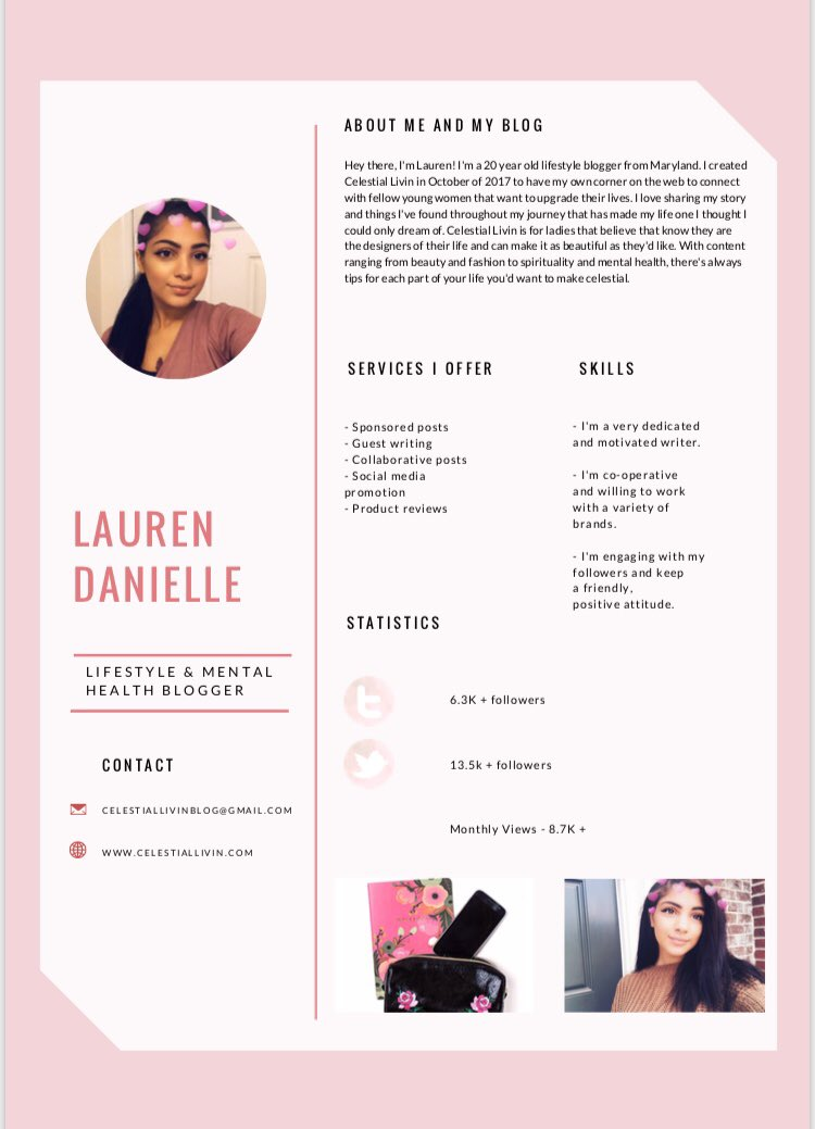 Does anybody need a media kit?  If you'd like one then DM me and I'll make you one!   #bbloggers #bloggerswanted #bloggerstribe <br>http://pic.twitter.com/2xpZ9mAkGa