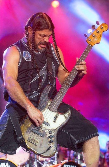 Happy Birthday to Robert Trujillo (METALLICA, OZZY OSBOURNE, SUICIDAL TENDENCIES), who LOVES Jaco Pastorius, fyi.