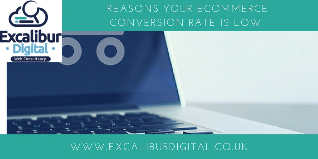 Reasons your #eCommerce #conversion rate is low  https:// buff.ly/2y9Ft5a  &nbsp;   #BizTips #BizTalk <br>http://pic.twitter.com/bOjB4tbadQ
