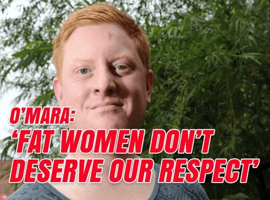 Labour MP Jared O'Mara: Fat Women Don't Deserve Respect https://t.co/2...