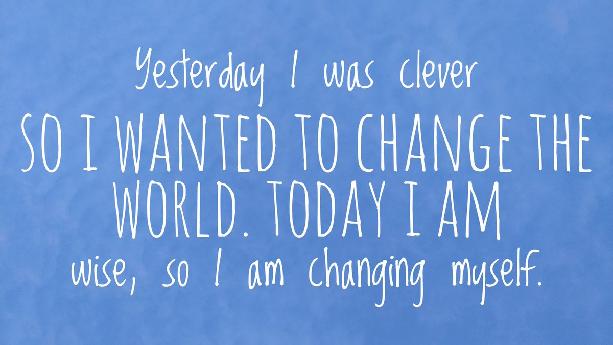 Yesterday, I was clever .... #mondaymotivation #Startup #Entrepreneur #Motivation #MakeYourOwnLane #defstar5 #Mpgvip #Quote #TuesdayThoughts <br>http://pic.twitter.com/z40Rwc92FN