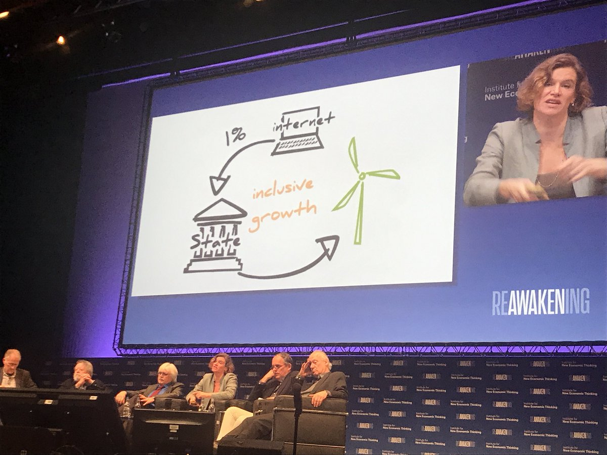 What does Inclusive Growth actually mean? The key question from @MazzucatoM #InclusiveGrowth #INET2017<br>http://pic.twitter.com/7YVD5P2GwR