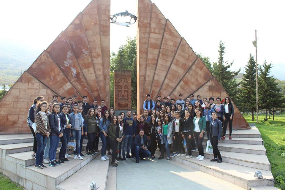 Within the framework of program &quot;#Student-#pupil-#soldier: #PowerOfUnity&quot;#ArSU students visited #Hadrut  #Artsakh #Միասնությանուժը #Հադրութ<br>http://pic.twitter.com/F2Zg9qfa3u