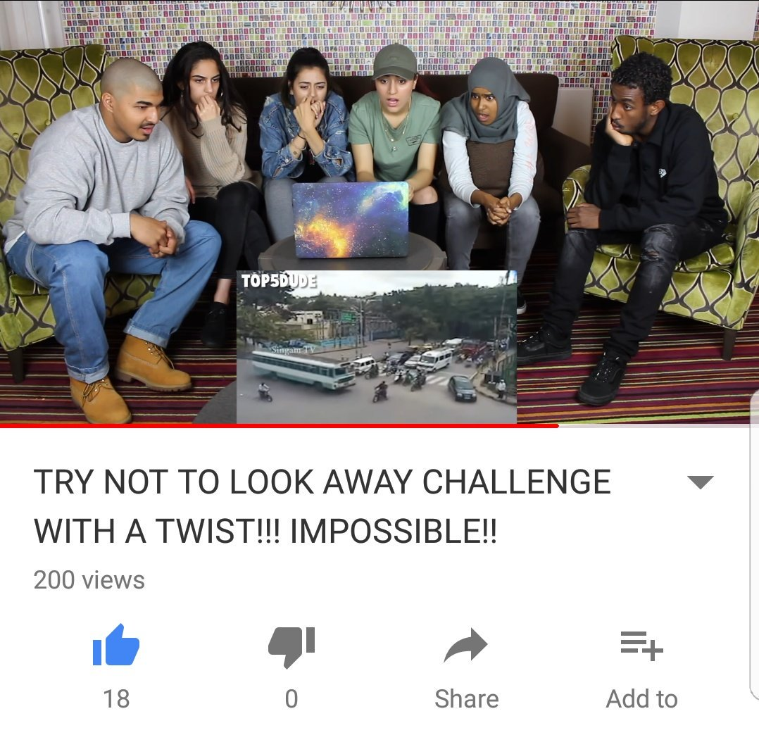 Has anyone managed to resist looking away?! Leave a comment on the video and let us know!! Let&#39;s get it to 30 likes. #youtube #challenge<br>http://pic.twitter.com/AcohmZOAqX
