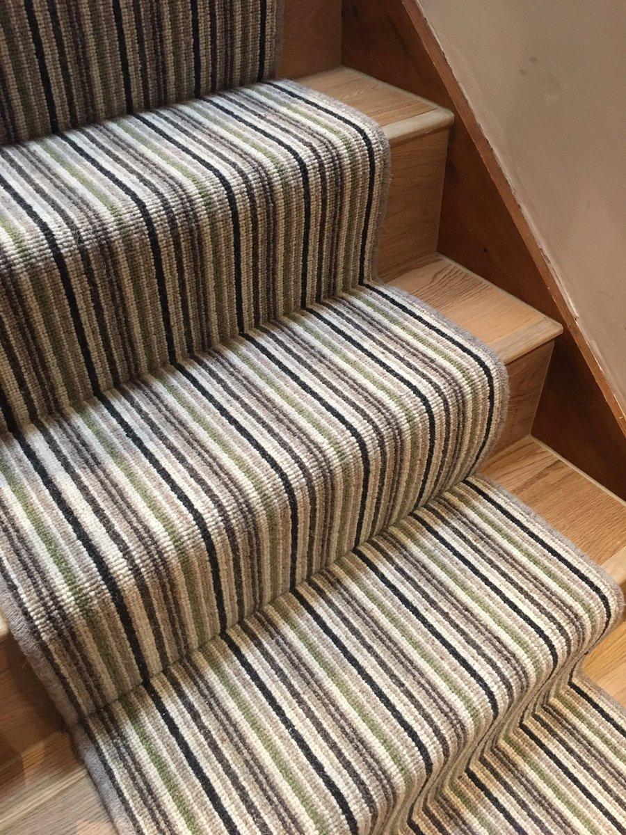 Striped Stair Runner Ed Over