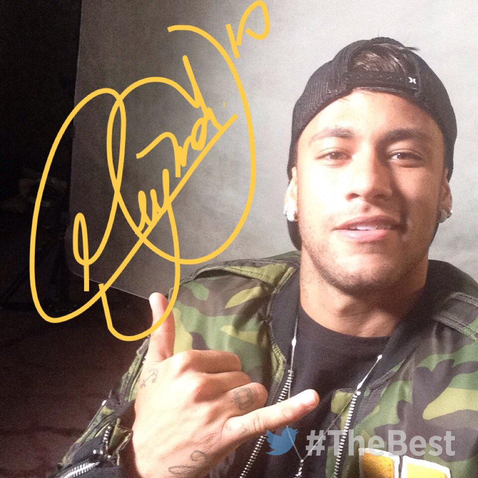 #Neymar is here 🤙 #TheBest https://t.co/okds8rzdoZ