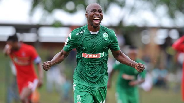 5d72866c8 Siyabonga Nomvethe became the league s all-time leading goalscorer after  scoring the equalizing goal against Sundowns on Saturday.