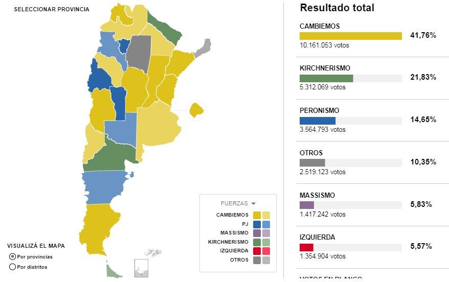 #BuenLunes Los resultados de las elecciones, en un mapa interactivo ¡N...