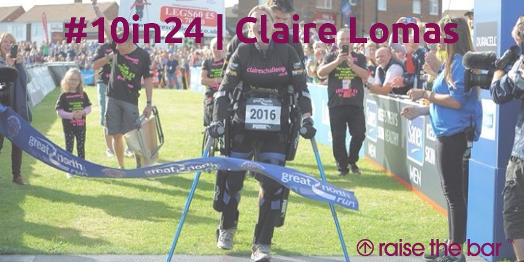 We spoke to the inspirational @claire80lomas during her training for her toughest ever challenge |  https:// goo.gl/Sqtkgk  &nbsp;   #Blog #10in24<br>http://pic.twitter.com/ESKVut0iNy