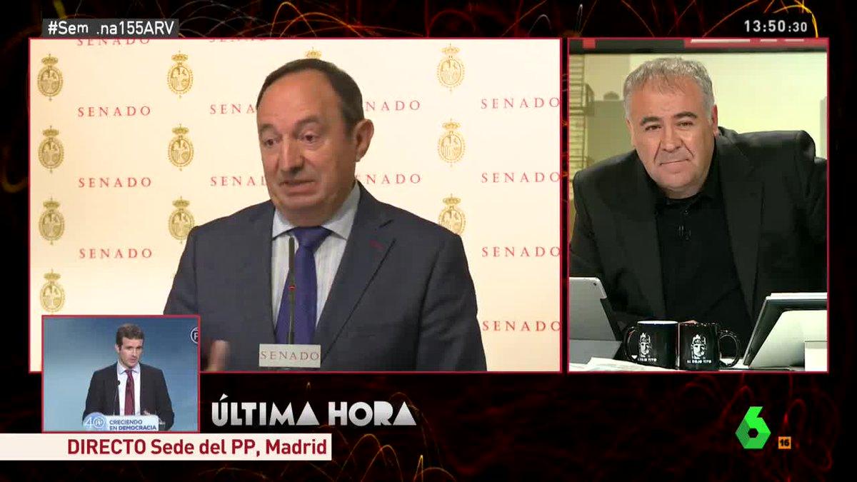 🔴 Pedro Sanz: 'El Senado no puede someterse a los horarios de otros' #...