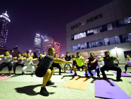 Gulf News employees accept 30-day fitness challenge https://t.co/QdHRKdwrNT