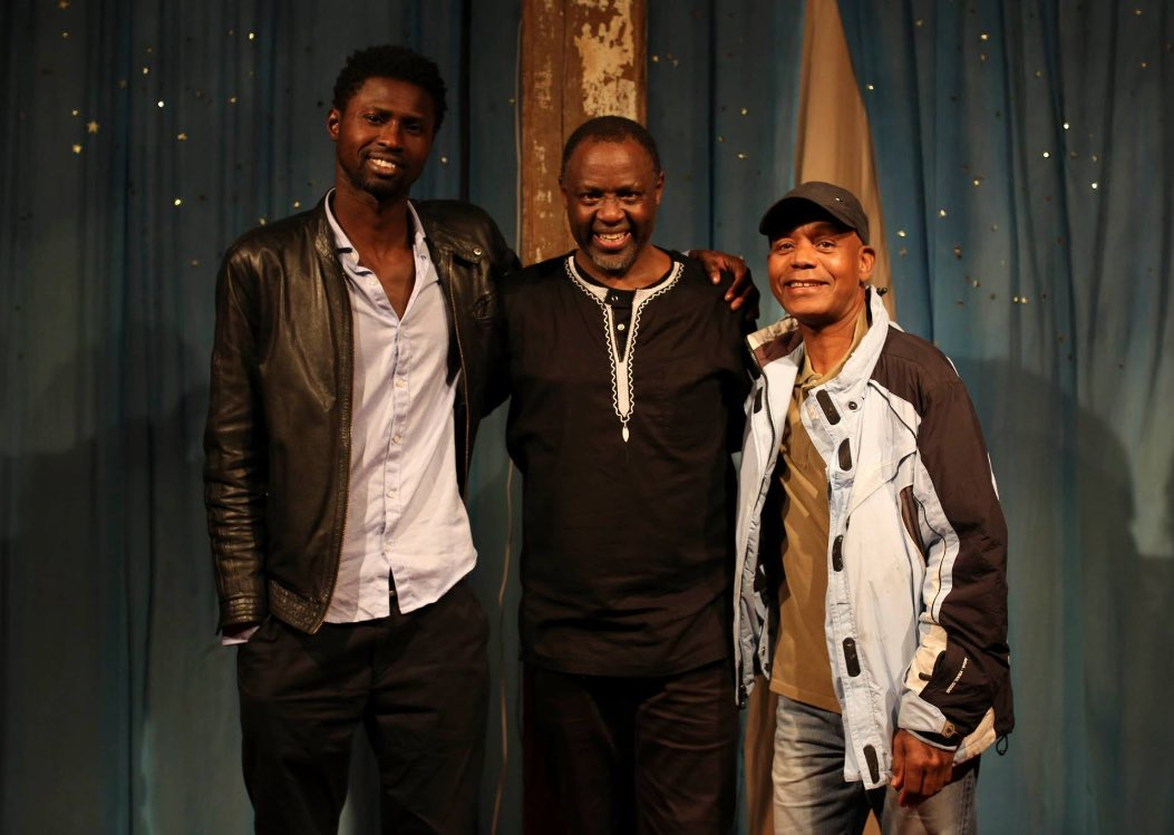 Not 1 but 3 great #African musicians in the house at @JeanPaulSamputu&#39;s fantastic solo gig! #Rwanda, #Senegal, #Madagascar all represented <br>http://pic.twitter.com/9RKu9F3udm