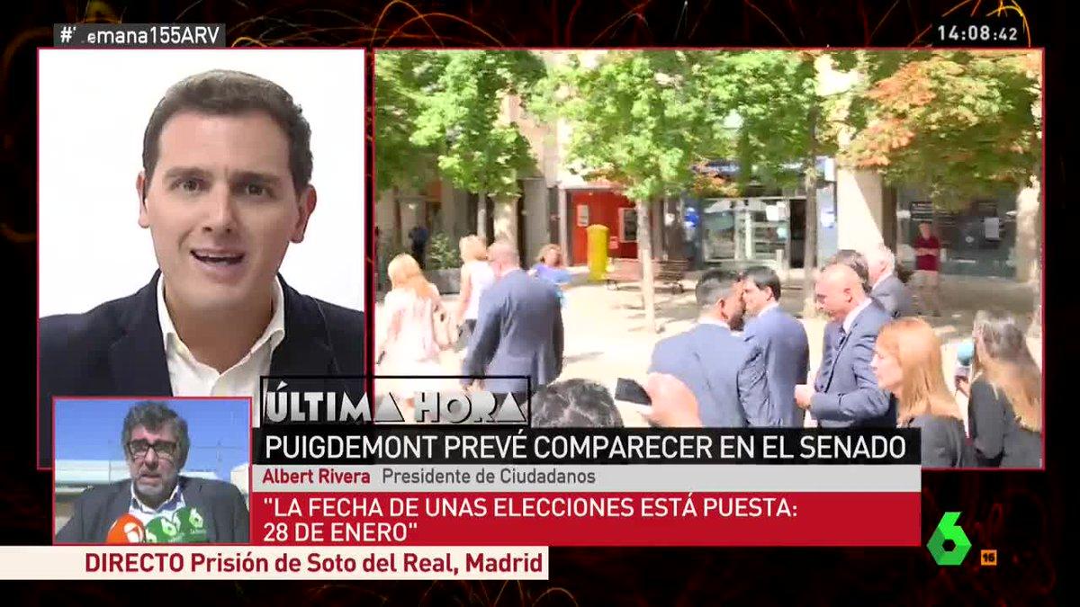 🔴 Albert Rivera: 'El Estado lleva años ausente de Cataluña' #Semana155...