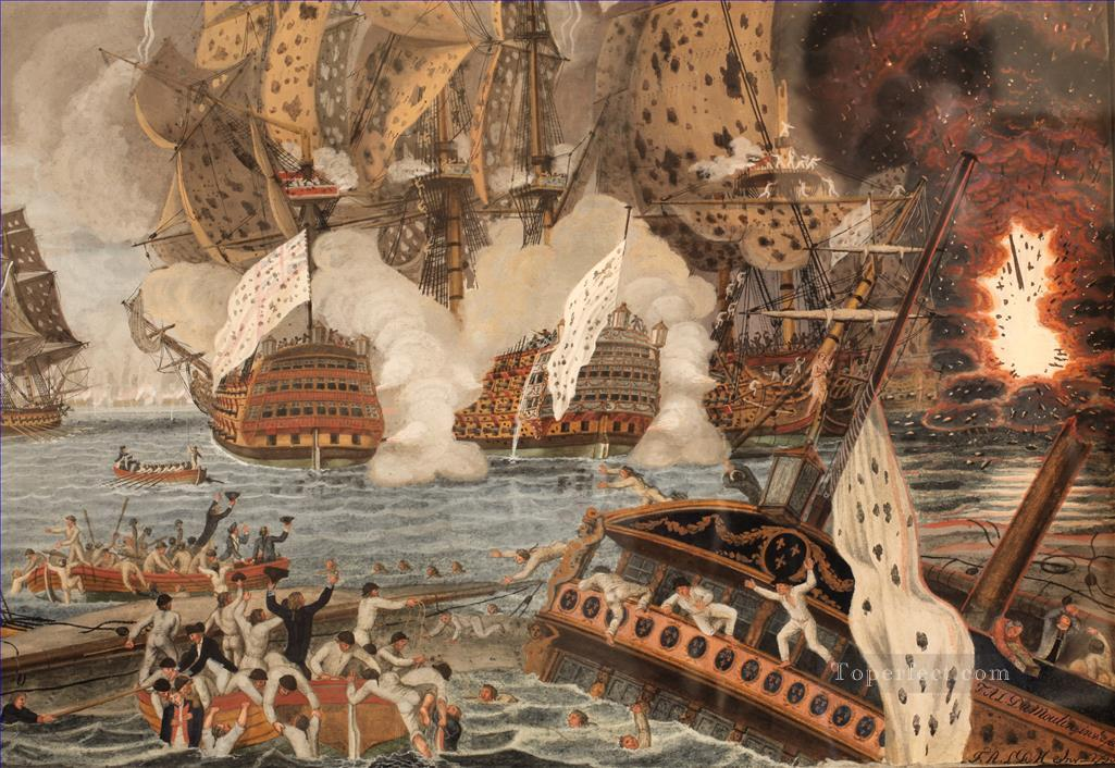 Today Oct 23 - 1702 #British - #Dutch Naval squadron annihilate the #French and #Spanish fleet at the Battle of Vigo Bay<br>http://pic.twitter.com/nsIPixIzEv