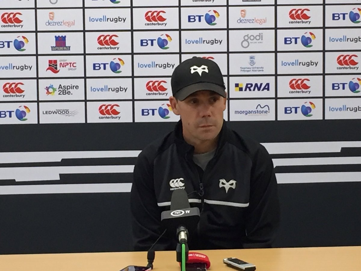 Last but by no means least, Backs Coach Gruff Rees looks ahead to @dra...