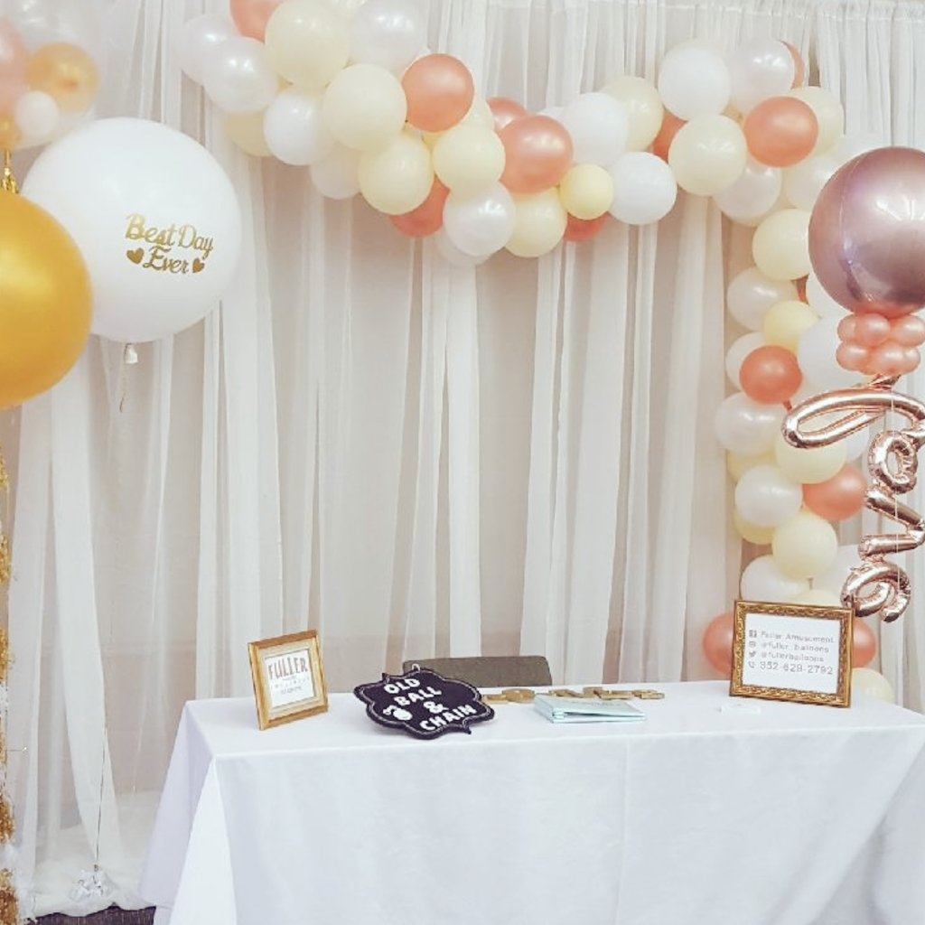 Ocala Wedding Expo. #Orbz #balloons. Personalized BIG balloons, Balloon swag &amp; #tassels. #rosegold  Call (352) 629-2792 for your next event.<br>http://pic.twitter.com/O7MgyxtFH9