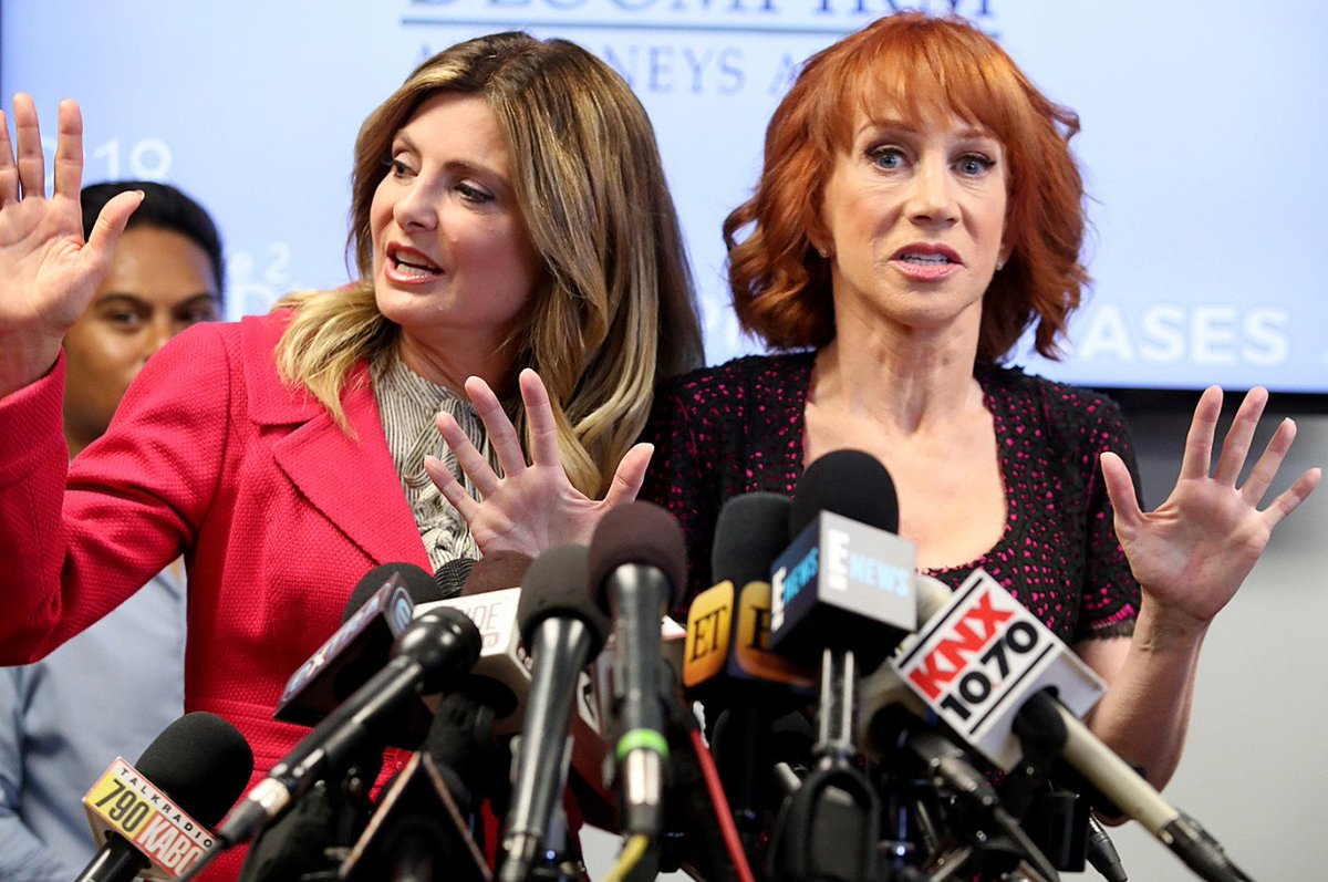 Kathy Griffin severs ties with Lisa Bloom https://t.co/DdEIQkcWdg
