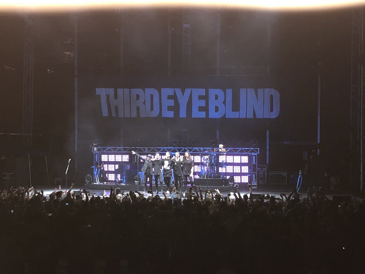 Two shows, one weekend. Thanks for still killing it after all these years @ThirdEyeBlind. #Charleston #Simpsonville<br>http://pic.twitter.com/zfJVqmFlHF