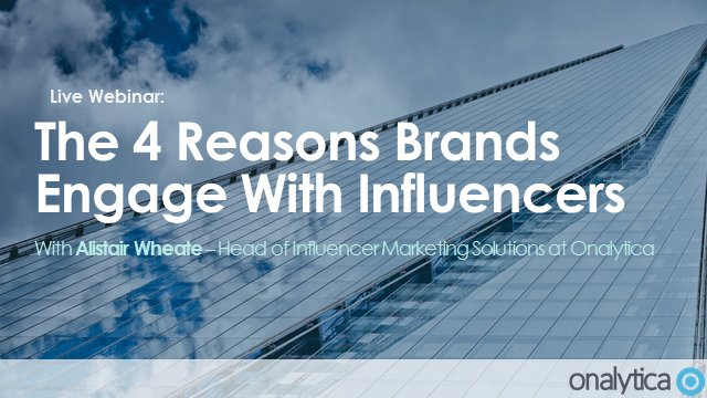 &quot;The 4 Main Reasons Brands Engage with Influencers&quot; - a #Presentation by @alwheate    https:// buff.ly/2xZuSWo  &nbsp;   #InfluencerMarketing<br>http://pic.twitter.com/S97vjpMFLv