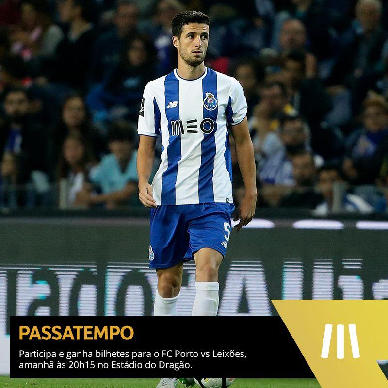 Queres ir ao @FCPorto vs Leixões? Participa aqui e ganha bilhetes -> https://t.co/ksqnmIhp1x. #FCPorto #MEODesporto