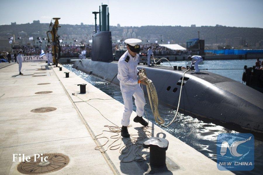 #Allemagne approuve la vente de 3 sous-marins #ThyssenKrupp militaires à #Israël avec un mois de retard#Germany http://news.xinhuanet.com/english/2017-10/24/c_136700748.htm  - FestivalFocus