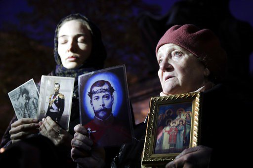 Orthodox believers protest movie about Russian czar's affair https://t.co/E5efCSEw7c