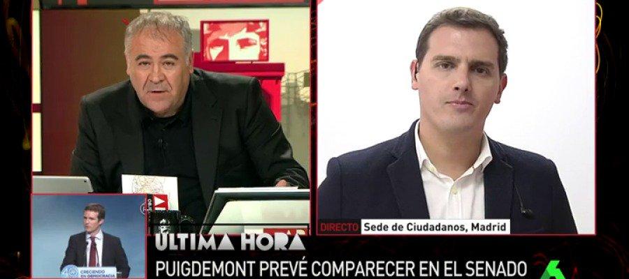 ▶Albert Rivera: 'La fecha de las elecciones en Cataluña está puesta, e...