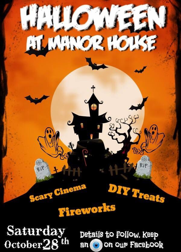Sat 28th Oct: it&#39;s all happening @ManorhouseRath #arts #crafts #treats #movies from 1pm @VisitCauseway @VisitorInfoCCAG @DiscoverNI <br>http://pic.twitter.com/I9CooYl3Sl