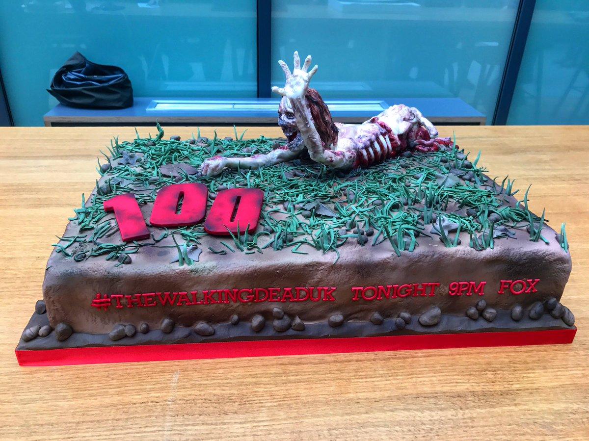 Cake while you wait? #TheWalkingDeadUK https://t.co/tvhH7Mzhbz