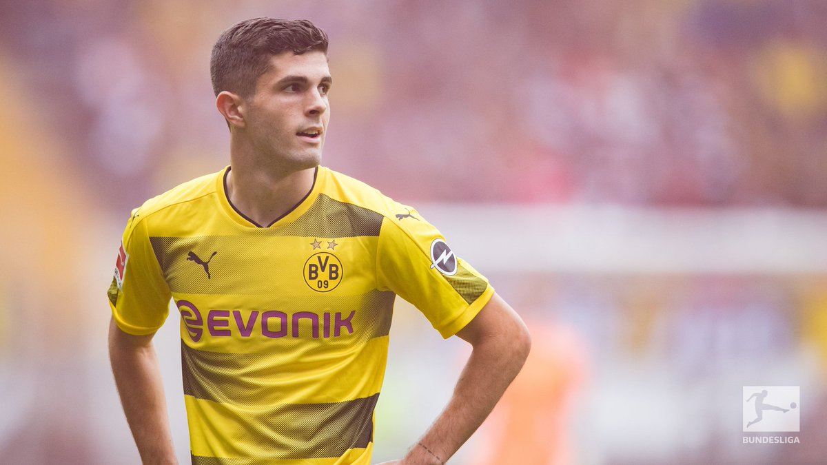 Congratulations, @cpulisic_10 👏  The @BVB youngster finished 6th in th...
