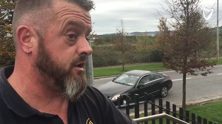 #WATCH: 'He had the gun up to his chest and he ran into me' - Eyewitness after massive garda hunt https://t.co/P0SzPStGDL