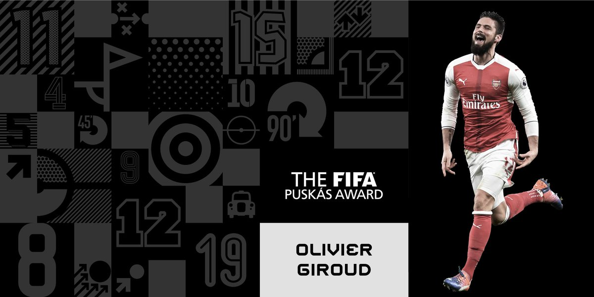 Congratulations, 🇫🇷@_OlivierGiroud_! 💪 The Frenchman's scorpion kick w...