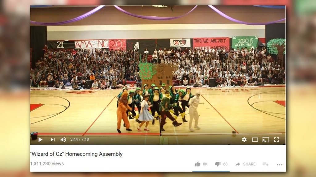 WATCH: Arizona high school's 'Wizard of Oz' dance is an internet hit https://t.co/vn1uCwcRKw