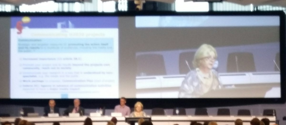 Communication 2 general public essential 2 yr #H2020 project 2b successful. &quot;Make your project understood by a 10 yr old boy&quot; #H2020Energy<br>http://pic.twitter.com/2ppRjwR6Sd