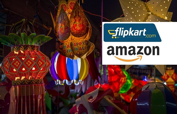 Diwali ecommerce sales: Amazon Vs. Flipkart in India https://t.co/N7EXf3SWVH #Diwali2017 #Diwali #India #ecommerce https://t.co/RmV4BvuhR1