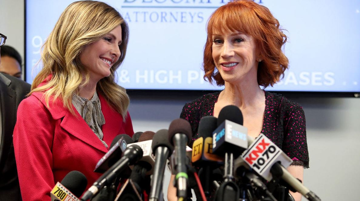 Kathy Griffin tells attorney Lisa Bloom to stop calling her https://t.co/qN09FSqkCv