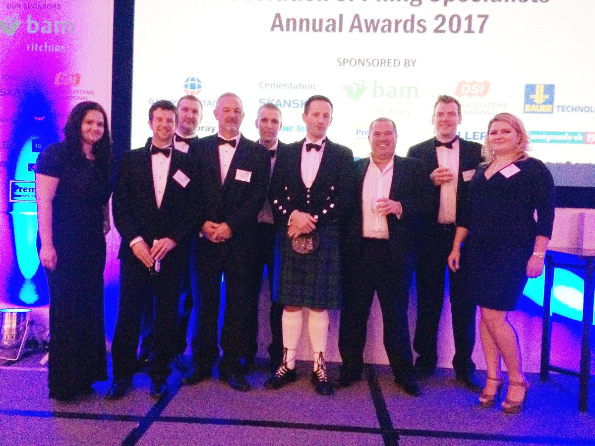 The BAM Ritchies team at the FPS Awards 2017 on Friday evening! Congratulations to everyone involved. @FPS_Piling #awards #civilengineering<br>http://pic.twitter.com/03jonIOdIH