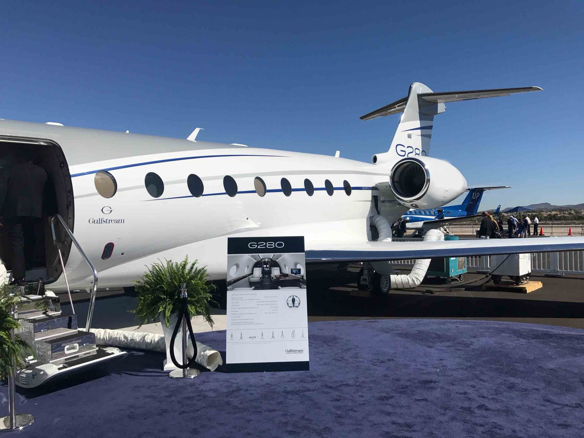 Can&#39;t wait to get our hands on this majestic piece. #NBAA . . . . #aviation #luxury #miami #vegas #GULFSTREAM <br>http://pic.twitter.com/d7zkKzrwXx