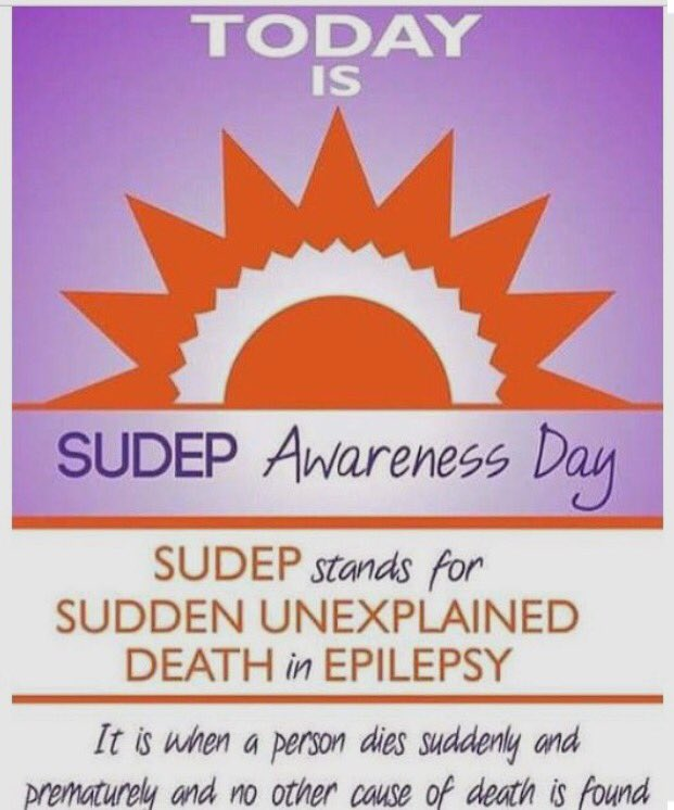 Today is #SUDEPAwarenessDay! AOE sends our love, support, and prayers to the families affected and the many lives lost from #epilepsy.  <br>http://pic.twitter.com/0Wuup8uNJl
