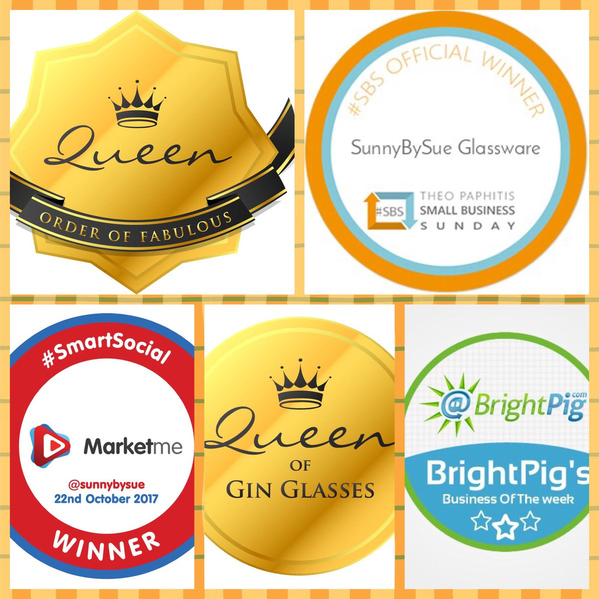 I would encourage everyone to enter #awards it has been a huge boost to my biz winning these  #womeninbiz #wnukrt #smallbiz #ginglasses<br>http://pic.twitter.com/tZGxkA55Tk