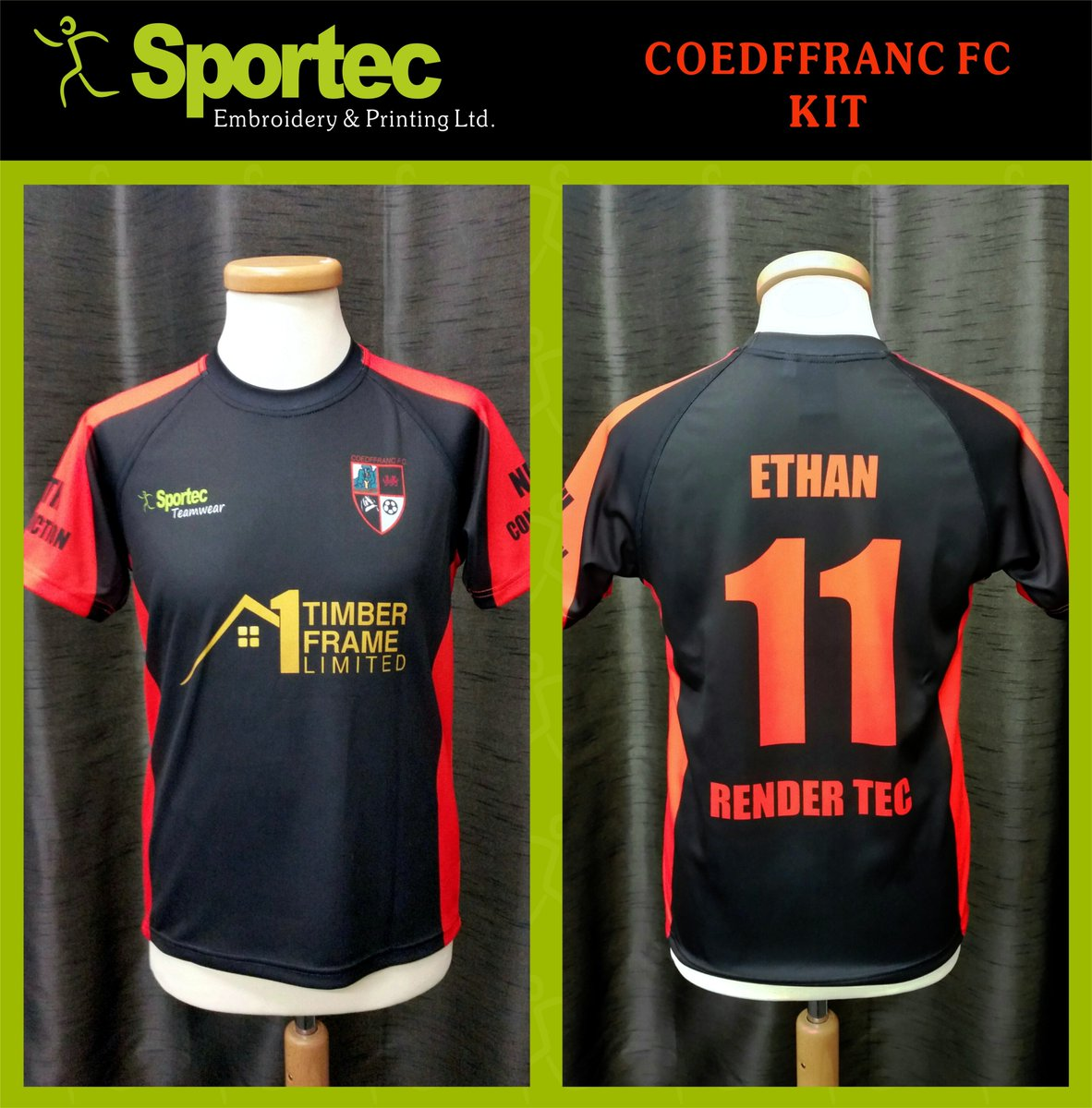 Latest Football Kit, manufactured for Coedffranc FC  #Football #Sport #Jersey #Teamwear #kit #game #sublimation<br>http://pic.twitter.com/rJx0pasK4B